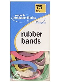 Work Essentials Colored Rubber Bands