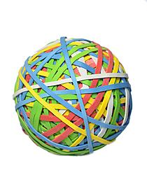 Colored Rubber Band Ball