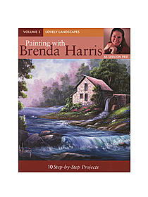 Painting with Brenda Harris, Volume 3: Lovely Landscapes