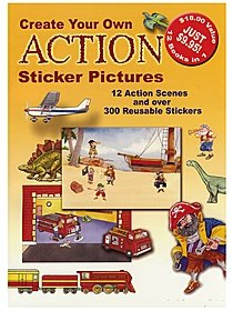 Create Your Own Action Sticker Pictures