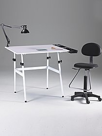 The Berkeley Classic Drafting Table Combo