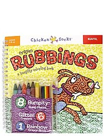 Crayon Rubbings: A Bumpity Coloring Book