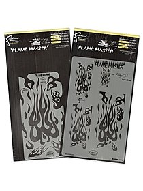 Flame Master Freehand Airbrush Templates