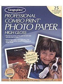 Professional Combo Print Photo Paper