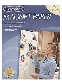 Magnet Paper pack of 6