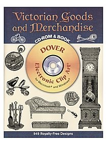 Victorian Goods and Merchandise: CD-ROM and Book