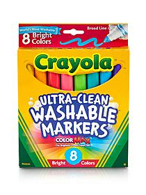 Washable Markers -- Bright Colors