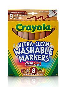 Washable Markers -- Multicultural Colors