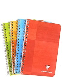 Wirebound Multiple Subject Graph Paper Notebooks
