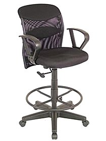 Salambro Mesh Fabric Manager's Chair chair