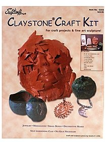 Claystone Craft Kit sculpture kit