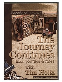 The Journey Continues: Inks, Powders & More -- DVD