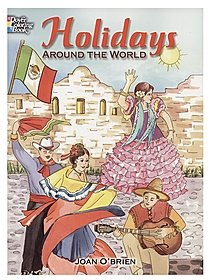 Holidays Around the World Coloring Book