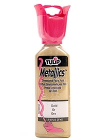 Metallic Dimensional Fabric Paint