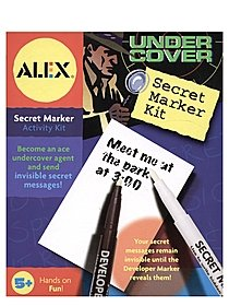 Under Cover Secret Marker Kit