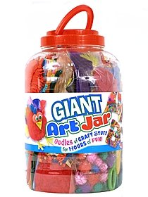 Giant Art Jar each