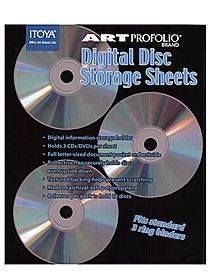 Art Profolio Digital Disc Storage Sheets storage sheets