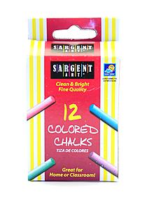 Molded Chalk assorted colors pack of 16