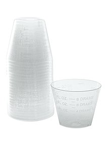 1 oz. Graduated Measuring Cups pack of 100 38608