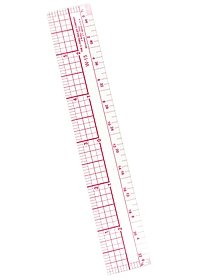 Transparent Architectural Ruler