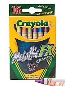 Metallic Crayons box of 16 20844