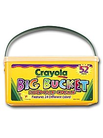 Big Bucket of Sidewalk Chalk