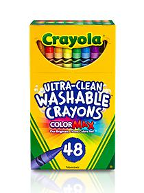 Ultra-Clean Washable Crayons box of 16 49210