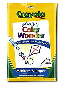 Color Wonder Markers and Paper