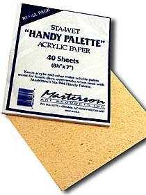 Sta-Wet Handy Palette