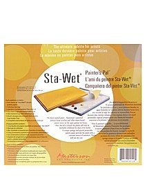 Sta-Wet Painters Pal Palette Painters Pal sponge refills pack of 3 9 in. x 12 in. 32893