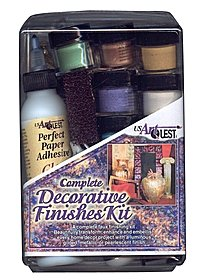Complete Decorative Finishes Kit