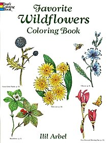 Favorite Wildflowers Coloring Book