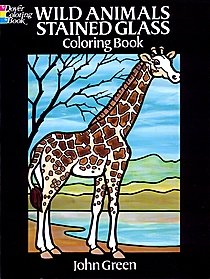 Wild Animals Stained Glass Coloring Book Wild Animals Stained Glass Coloring Book 86006