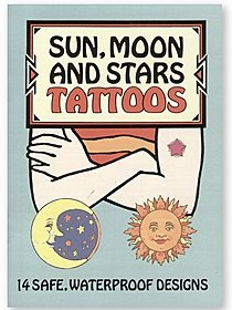 Sun, Moon & Stars Tattoos