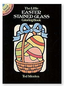 Little Easter Stained Glass Coloring Book