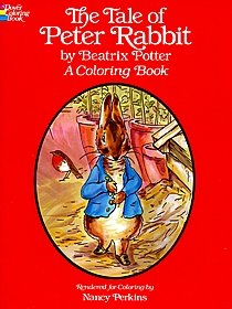 The Tale of Peter Rabbit Coloring Book