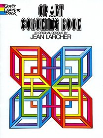 Op Art Coloring Book