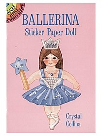 Ballerina Sticker Paper Doll