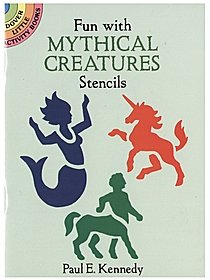 Fun With Mythical Creatures Stencils