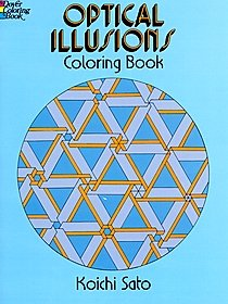 Optical Illusions Coloring Book