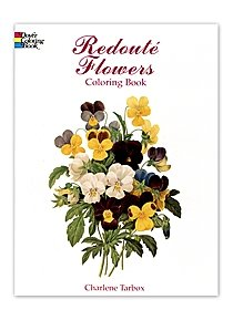 Redouté Flowers Coloring Book