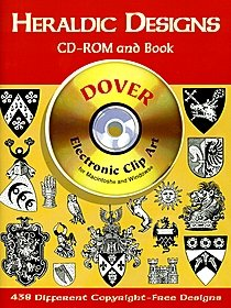 Heraldic Designs CD-ROM and Book