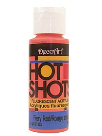 Hot Shots Fluorescent Acrylics