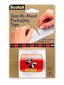 Tear-By-Hand Packaging Tape