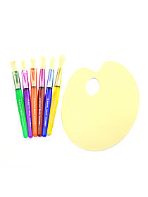 Deluxe Toddler Chubby Brush and Palette Set