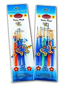 Big Kid's Choice Deluxe Detail Brush Sets