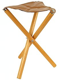 Three Leg Wood Artist Stool