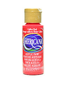 Americana Acrylic Paints primary red 2 oz. 46434
