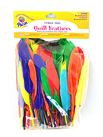 Colored Craft Feathers