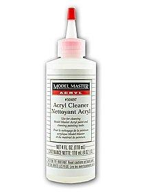 Model Master Acryl Cleaner 4 oz. bottle